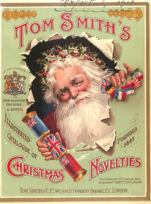 Tom Smith 1916 Catalog Covers - Tom Smith Christmas Crackers